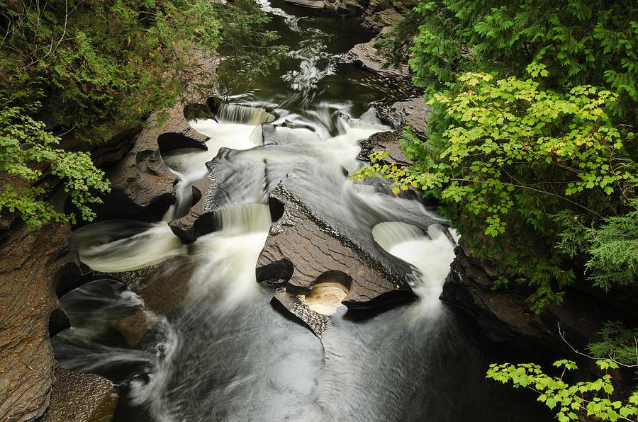 Cookie Cutter Falls Photograph