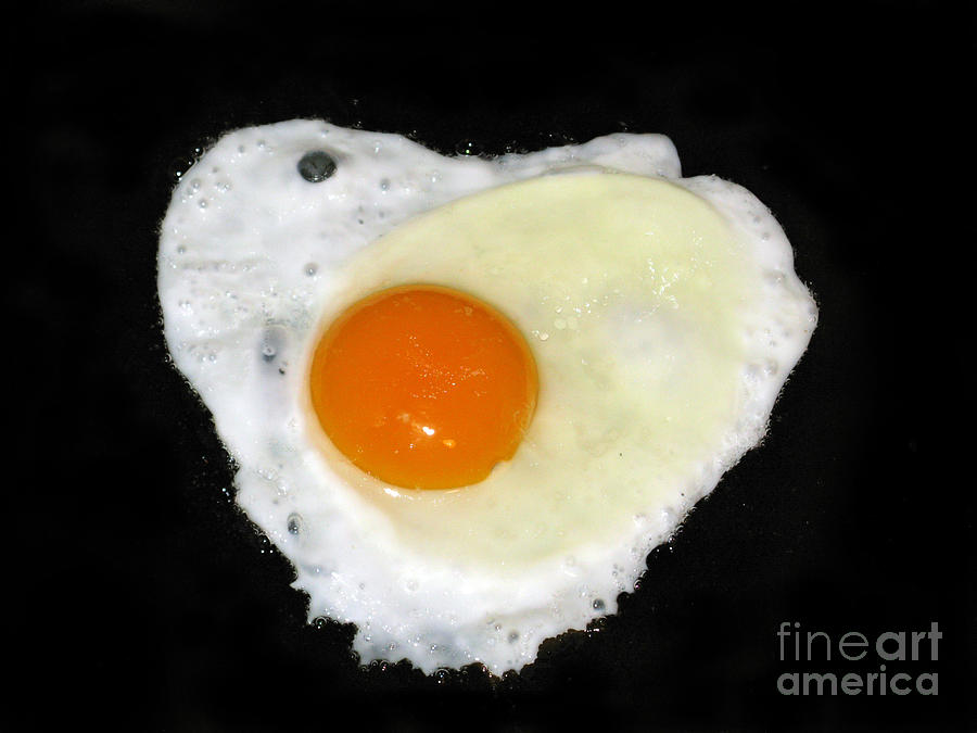Cooking With Love Series. Breakfast For The Loved One Photograph