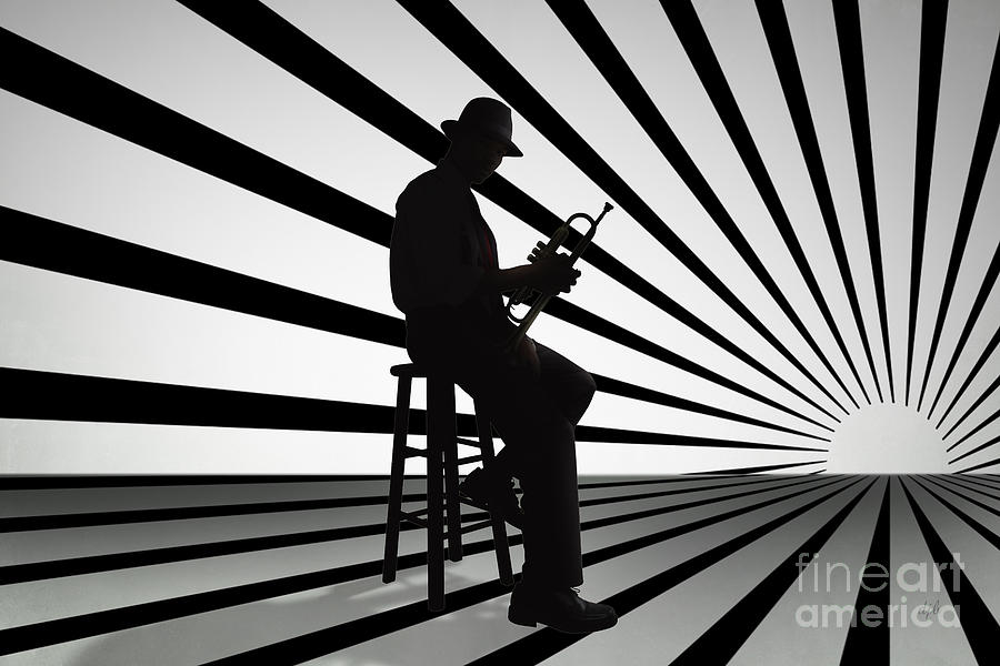 Cool Jazz 2 Digital Art