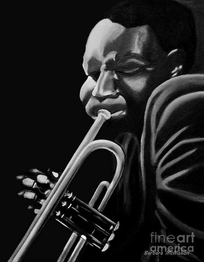 Cootie Williams Painting - Cootie Williams by Barbara McMahon