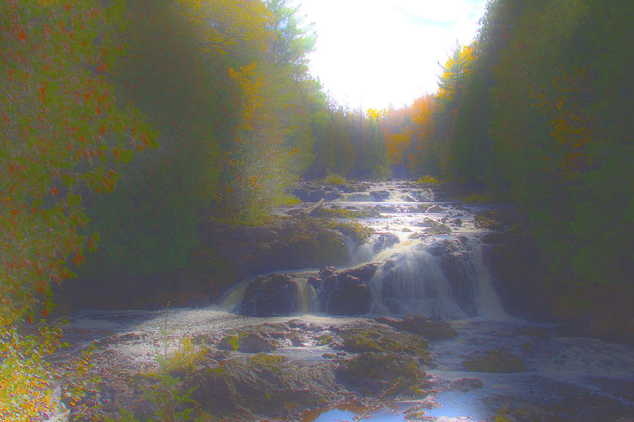 Copper Falls Photograph  - Copper Falls Fine Art Print