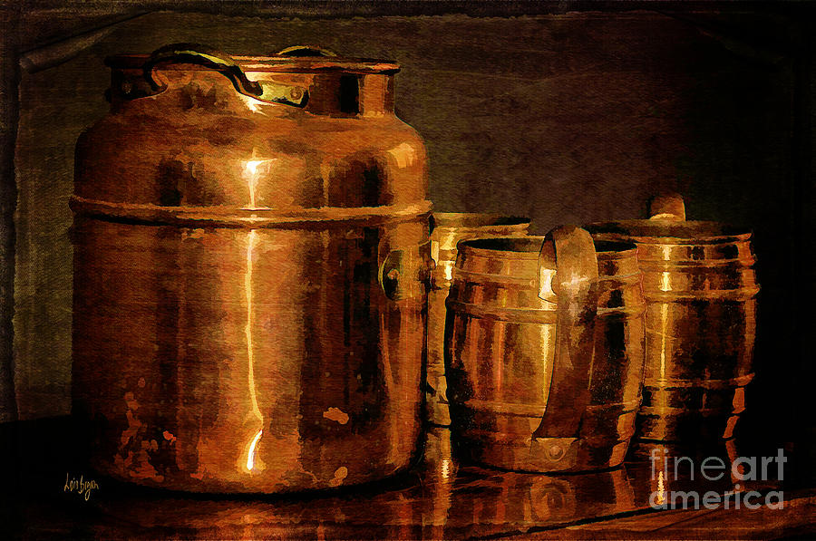 Copper Photograph  - Copper Fine Art Print