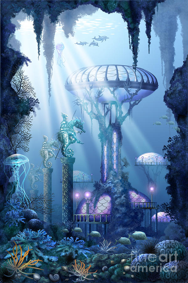 Coral City   Digital Art