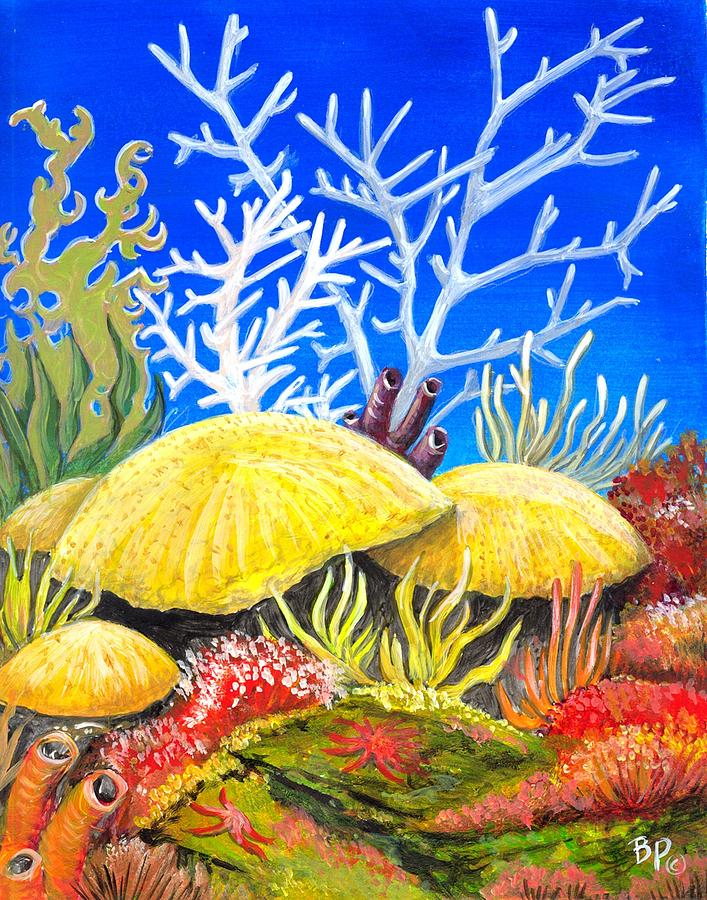 Coral Reef 2 Painting by Bob Patterson