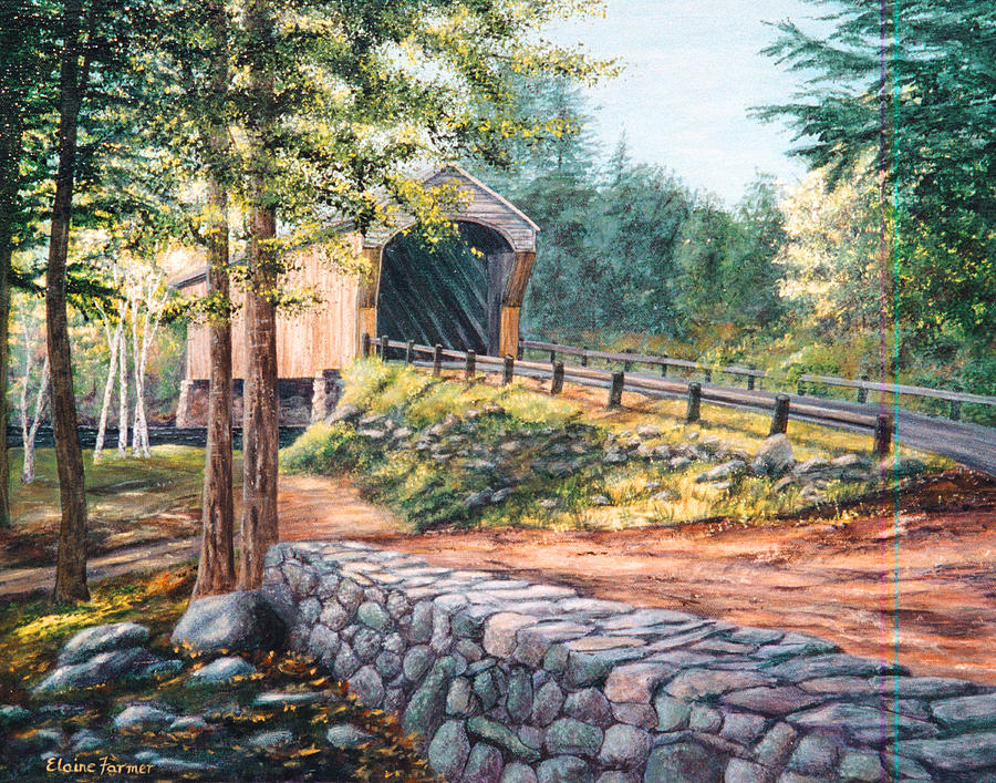Corbin Covered Bridge Painting
