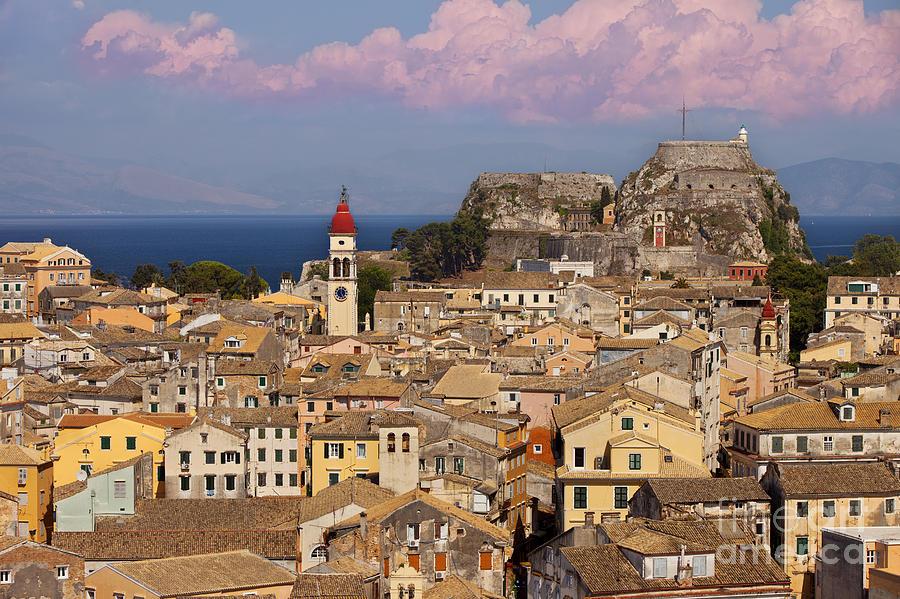 Corfu Town Photograph by Brian Jannsen