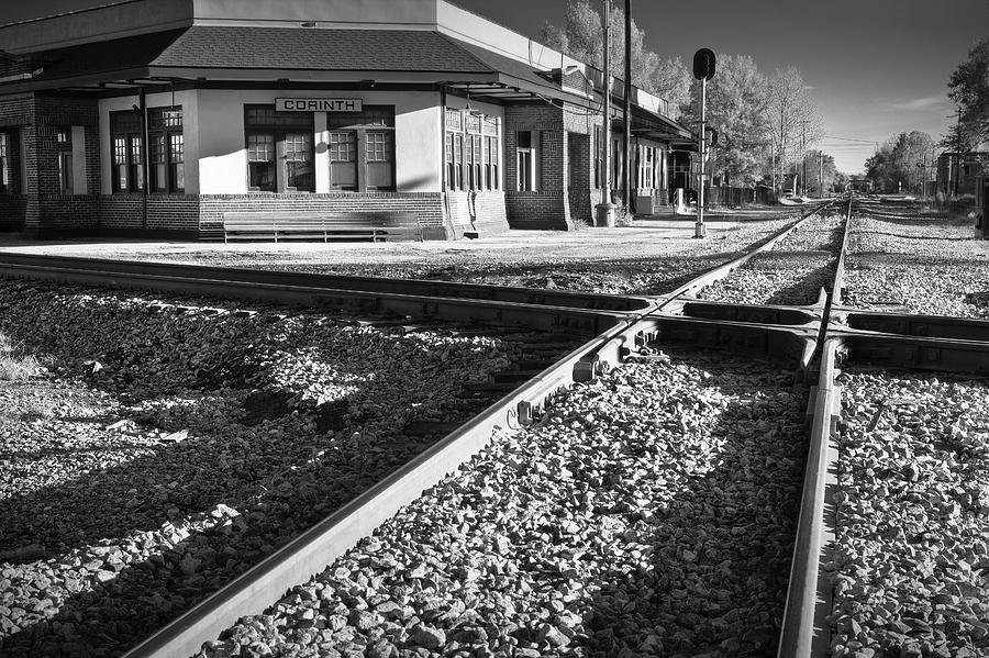 Corinth Station Photograph  - Corinth Station Fine Art Print
