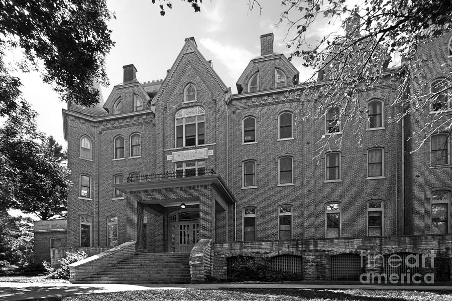 Cornell College Bowman Carter Hall Photograph  - Cornell College Bowman Carter Hall Fine Art Print