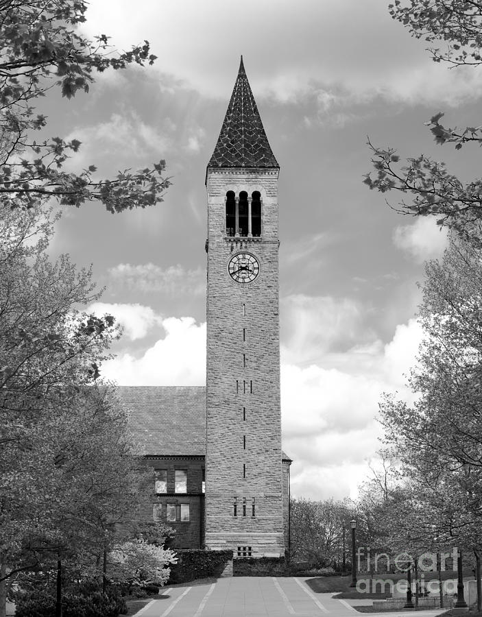Cornell University Mc Graw Tower Photograph