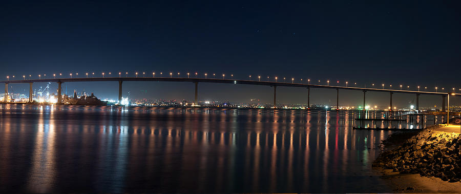 Coronado Bridge San Diego Photograph