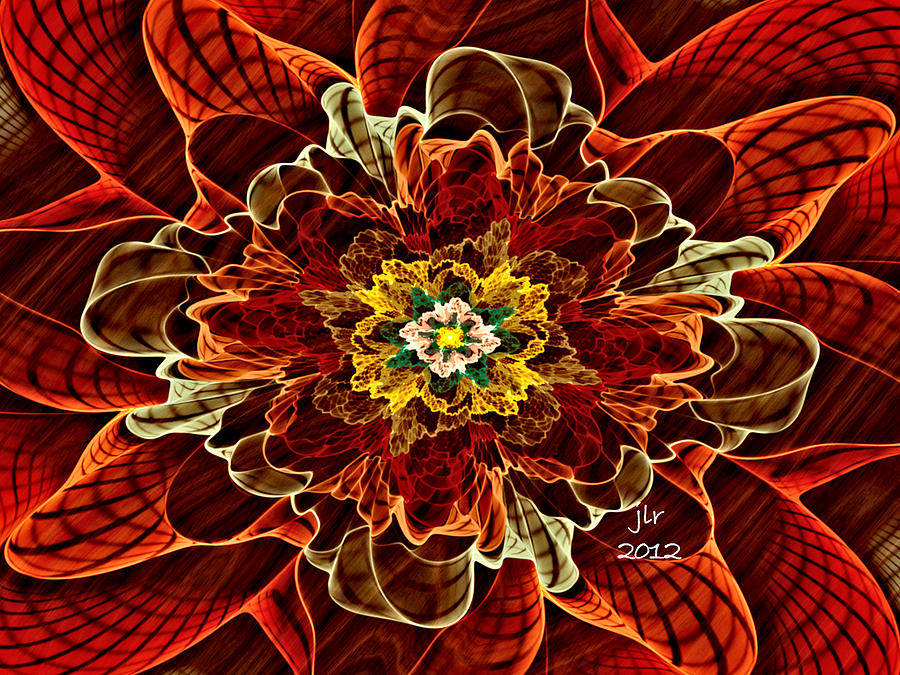 Corsage Digital Art by Janet Russell