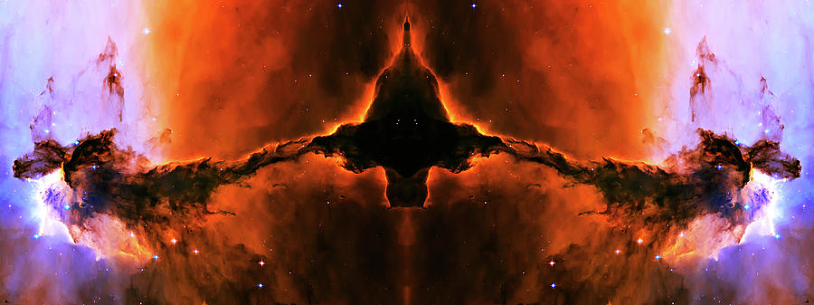 Cosmic Fire Fish Photograph  - Cosmic Fire Fish Fine Art Print