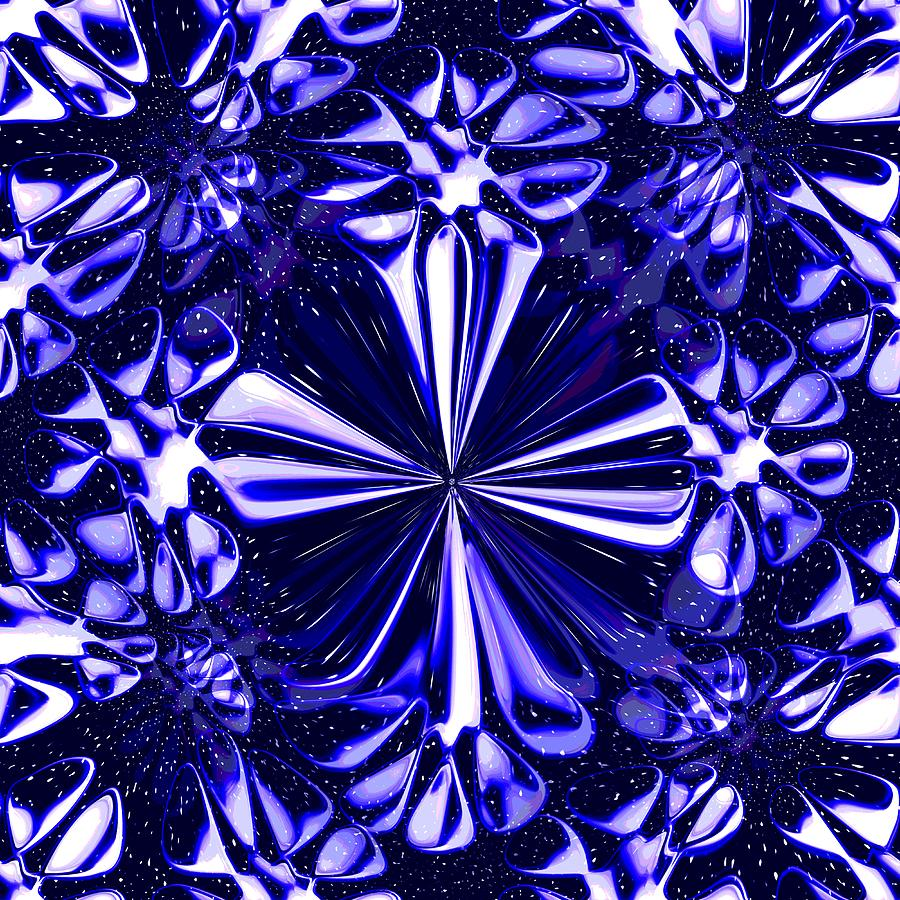 Cosmic Flowers Digital Art