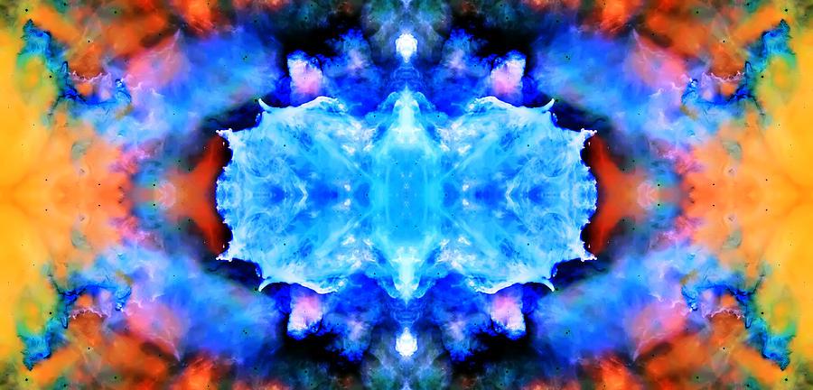 Universe Photograph - Cosmic Kaleidoscope 1 by The  Vault - Jennifer Rondinelli Reilly