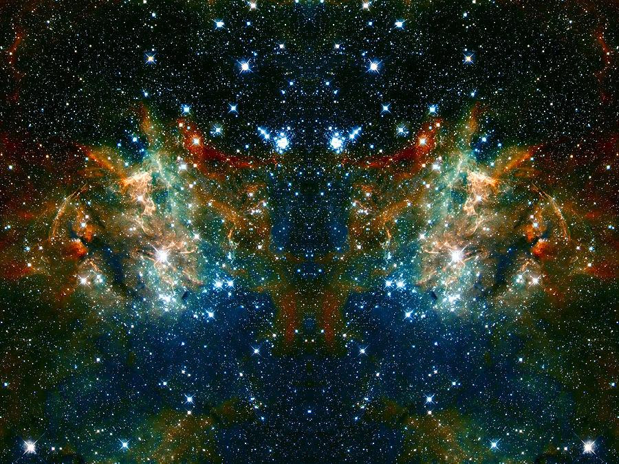 Nebula Photograph - Cosmic Phoenix  by Jennifer Rondinelli Reilly - Fine Art Photography
