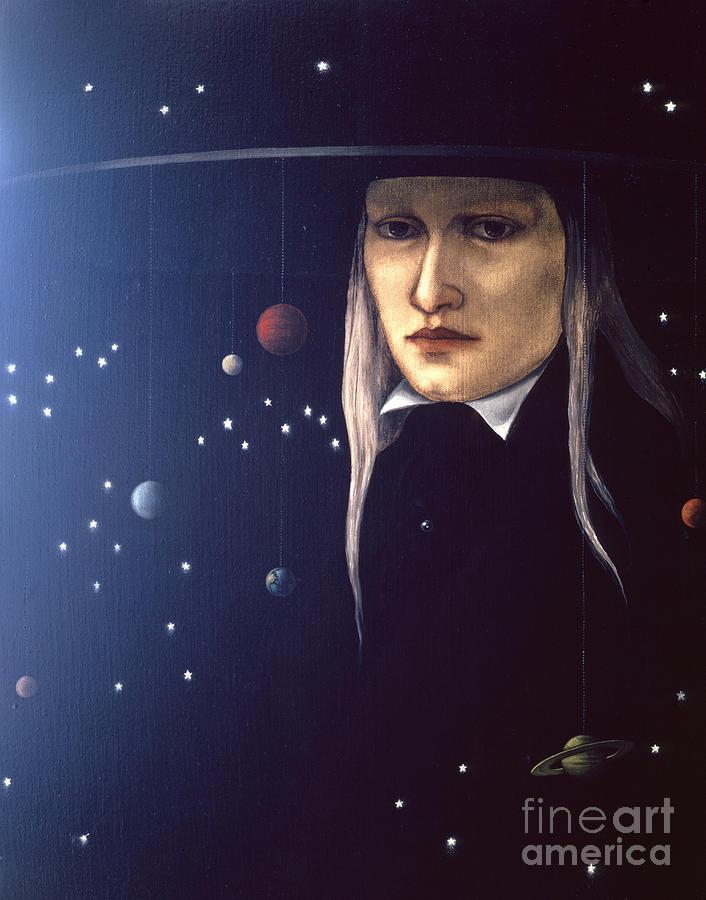 Cosmic Pilgrim Painting
