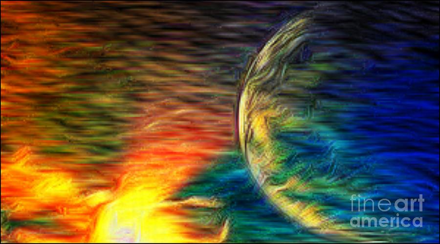 Cosmic Strom Digital Art