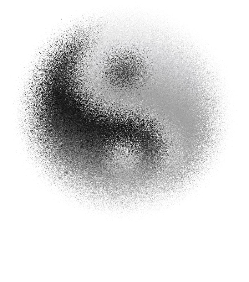 Yin Digital Art - Cosmic Yin Yang by Daniel Hagerman