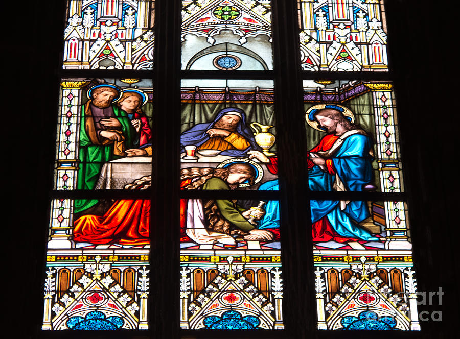 Stained Glass Photograph - Costly Devotion by Ann Horn