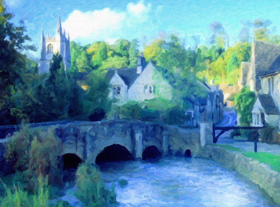 Cotswolds Of England Painting