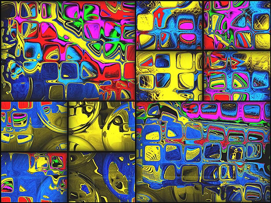 Counting Colors Digital Art