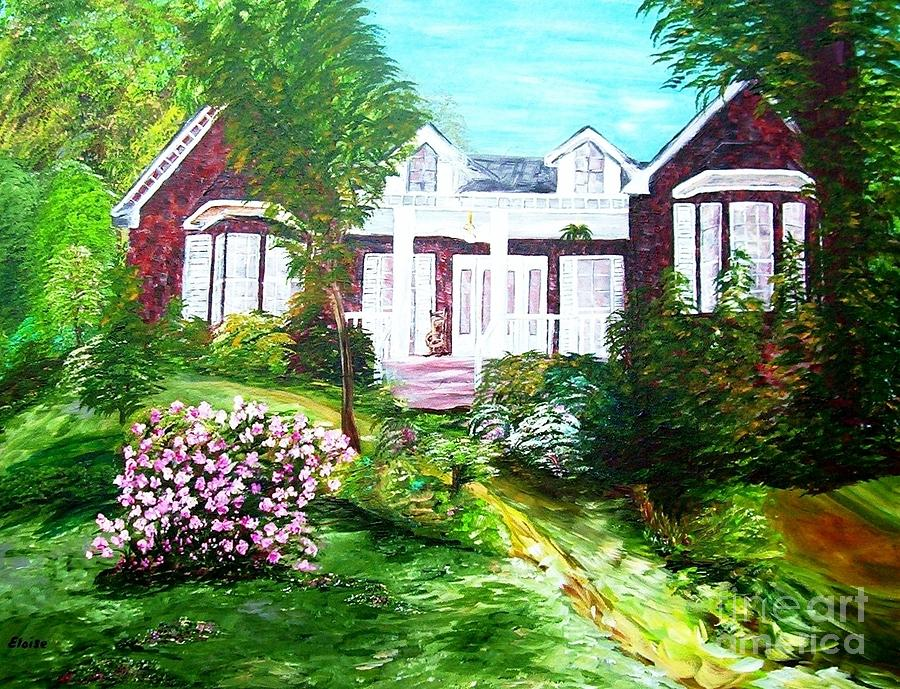 Country Estate Painting