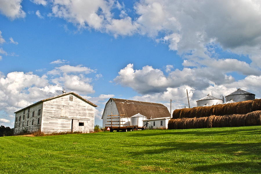 Country Photograph - Country Farm by Frozen in Time Fine Art Photography
