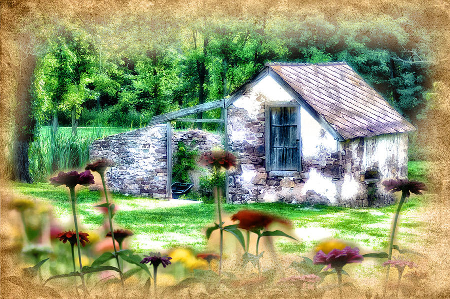 Country Garden Photograph  - Country Garden Fine Art Print