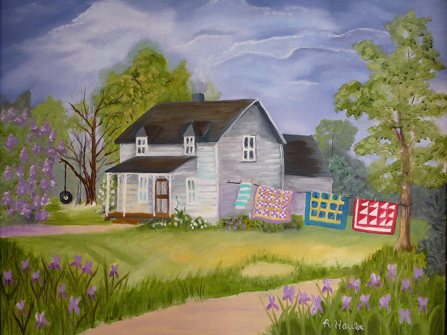 Country Living Painting By Reta Haube
