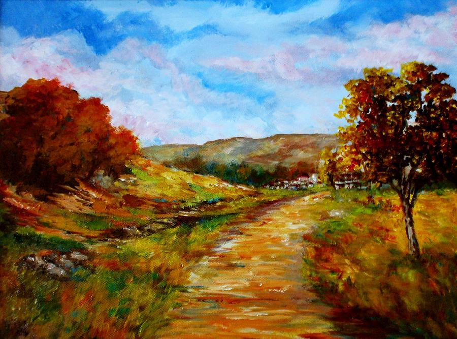 Country Road 2 Painting