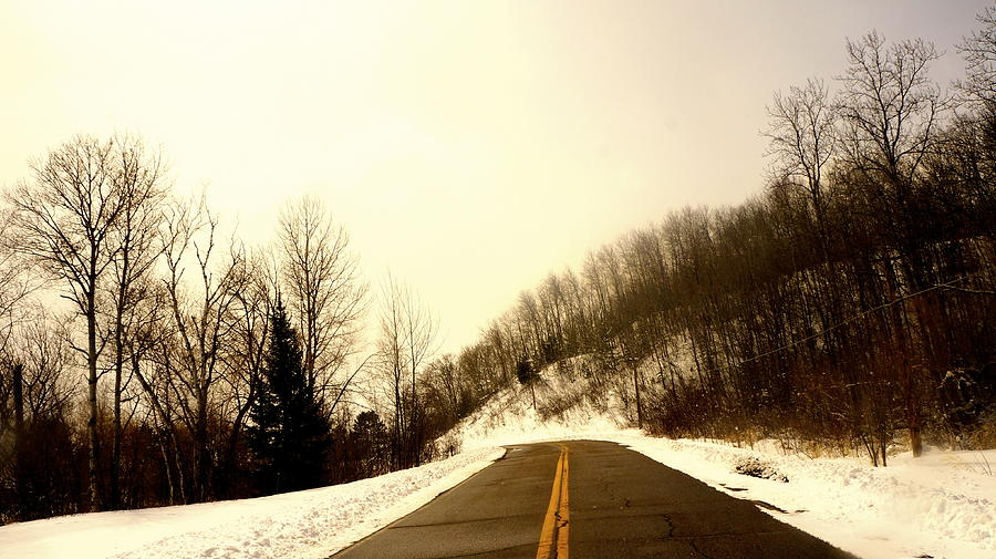 Country Photograph - Country Roads Take Me Home by Danielle  Broussard