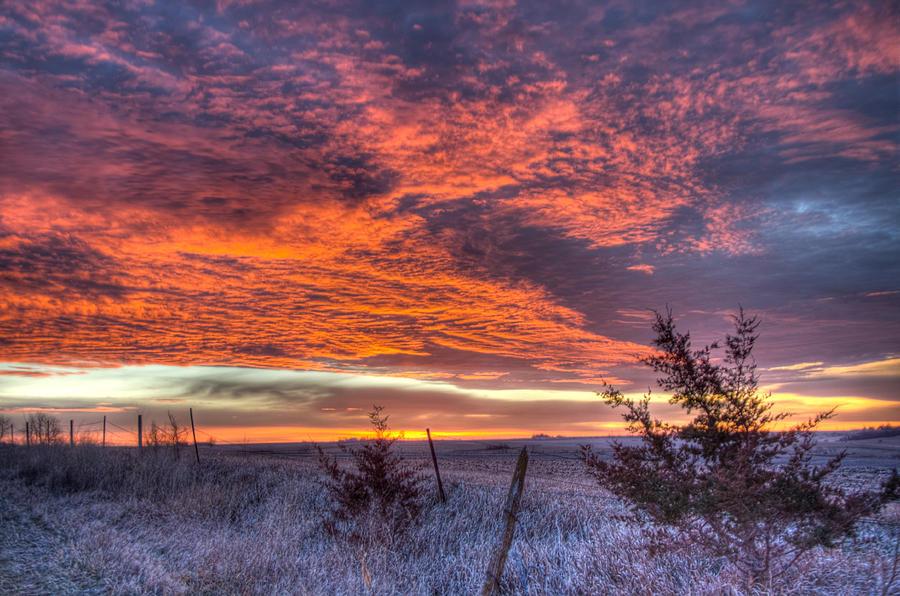 Country Sunrise Photograph - Country Sunrise Fine Art Print