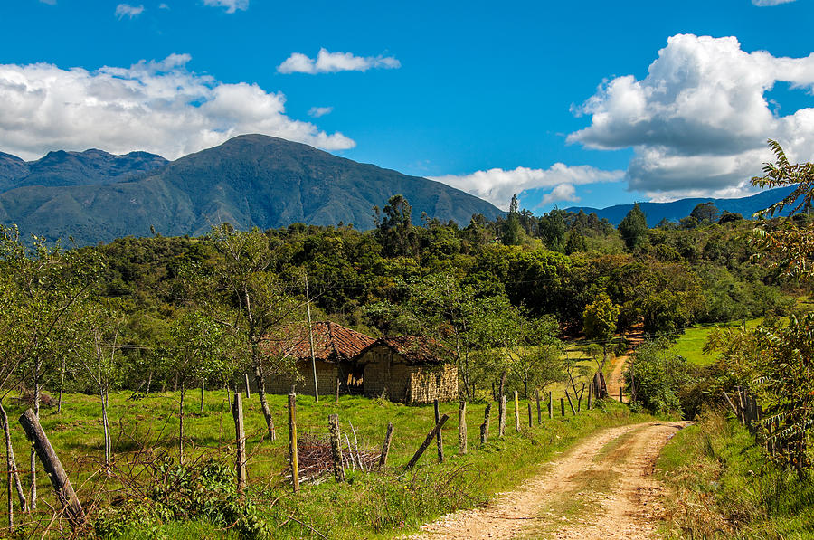 Countryside In Boyaca Colombia Photograph  - Countryside In Boyaca Colombia Fine Art Print