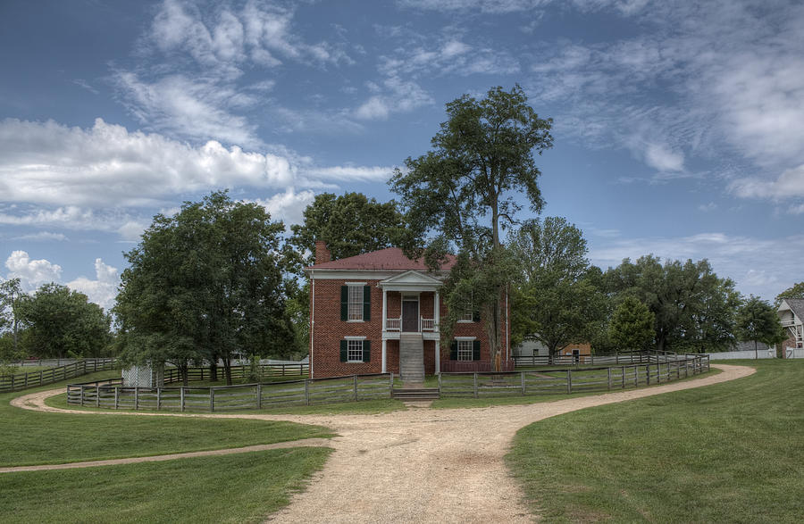 Courthouse At Appomattox Court House Photograph