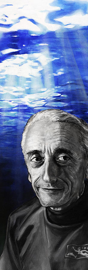 Cousteau Painting  - Cousteau Fine Art Print