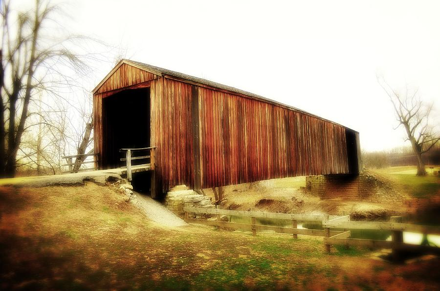 Covered Bridge Magic Photograph  - Covered Bridge Magic Fine Art Print