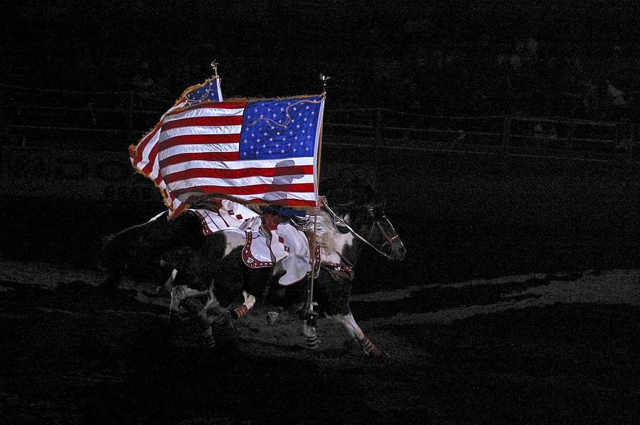 Cowboy Patriots Photograph