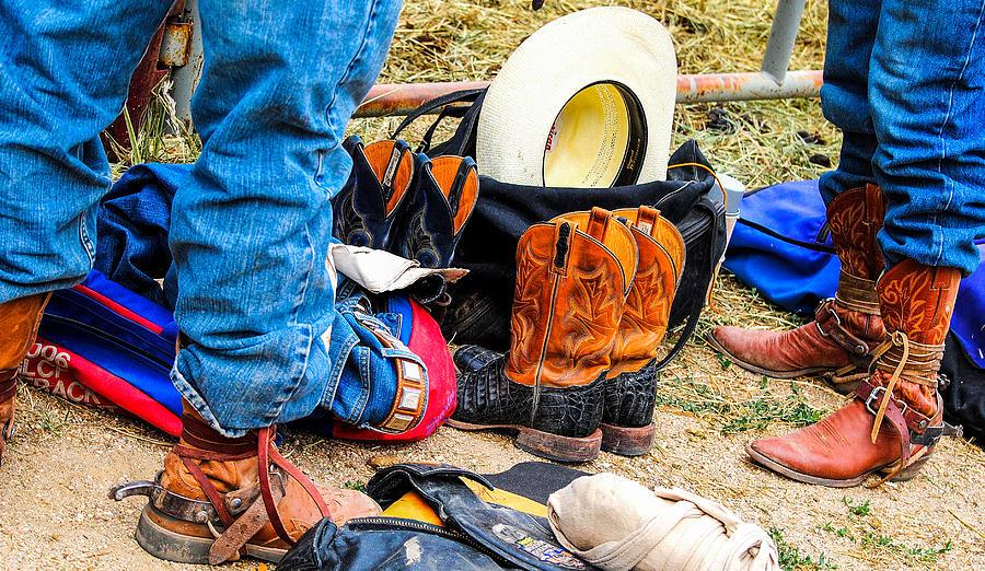 Cowboy Up Hot Thing. Photograph