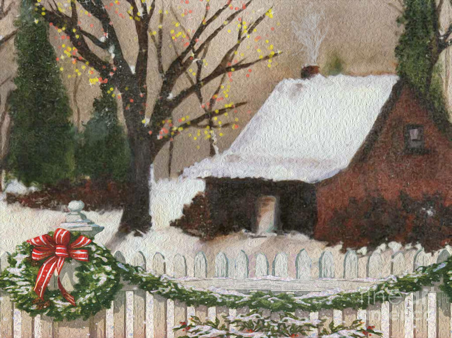 Cozy Cottage Photograph - Cozy Cottage by Cheryl Young