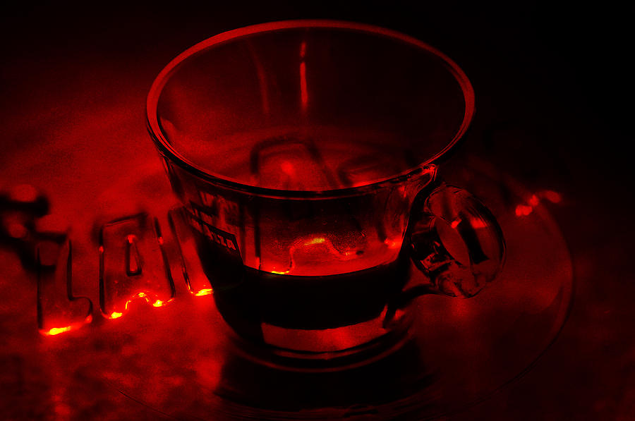 Cozy Evening Cup Of Coffee Photograph  - Cozy Evening Cup Of Coffee Fine Art Print