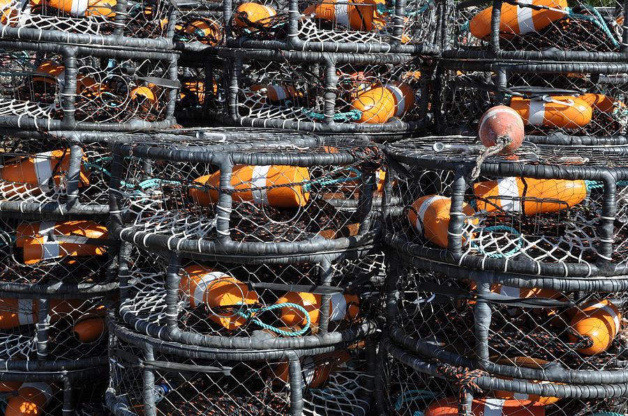 Crab Pots Photograph