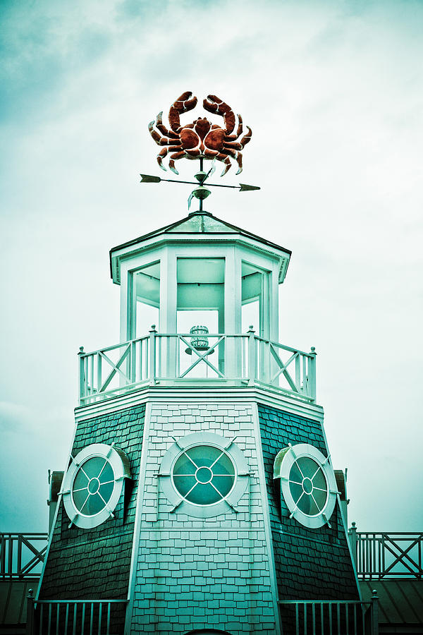 Crabby Weathervane Photograph