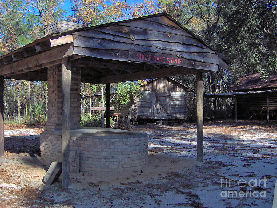 Cracker Cane Syrup Shed Photograph  - Cracker Cane Syrup Shed Fine Art Print