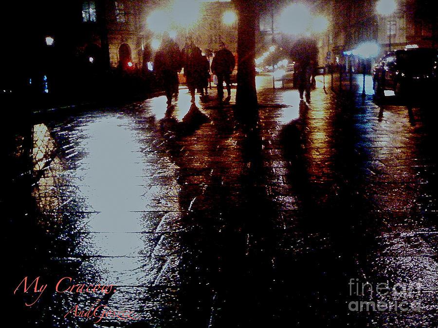 Greeting Cards  Photograph - Cracow My City. by  Andrzej Goszcz
