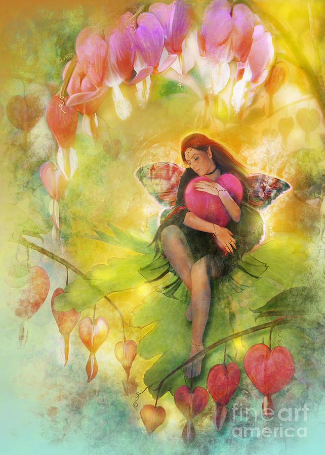 Cradle Your Heart Digital Art