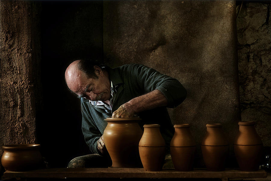 Craftsman Of Ceramic Photograph