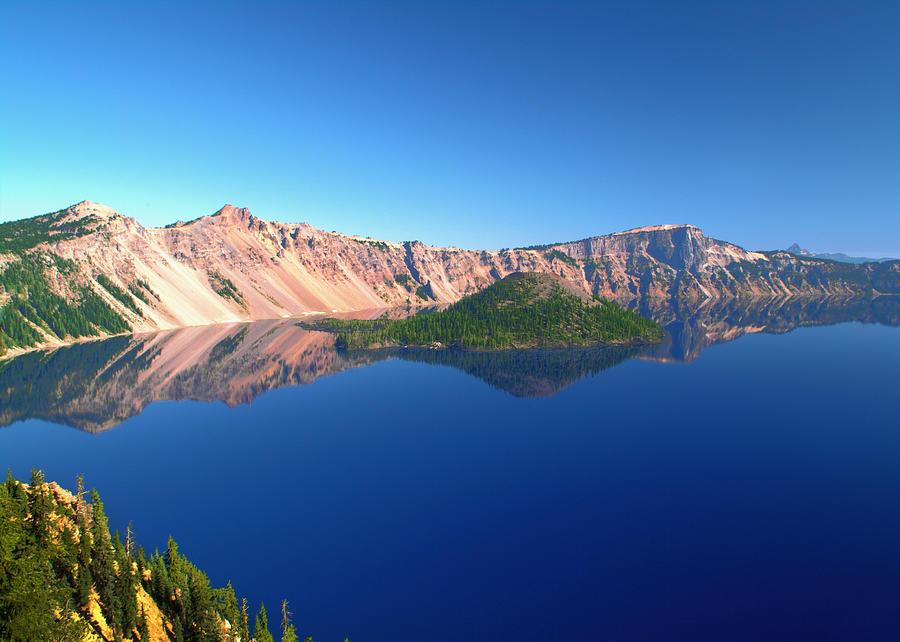 Crater Lake Photograph