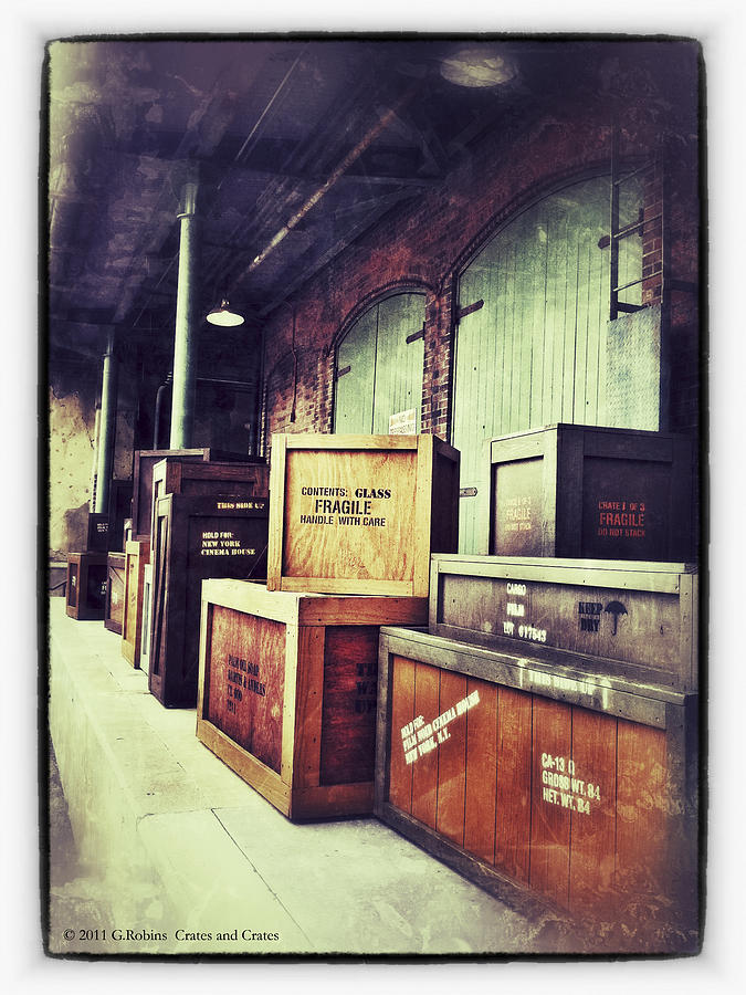 Crates And Crates Photograph
