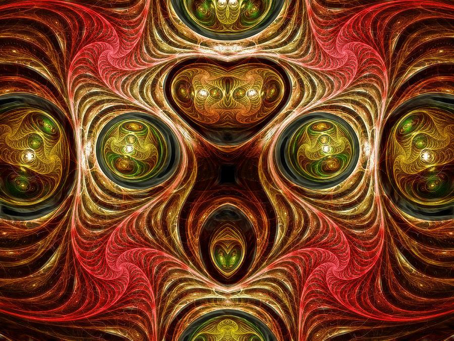 Crazy Modern Art Abstract Digital Art
