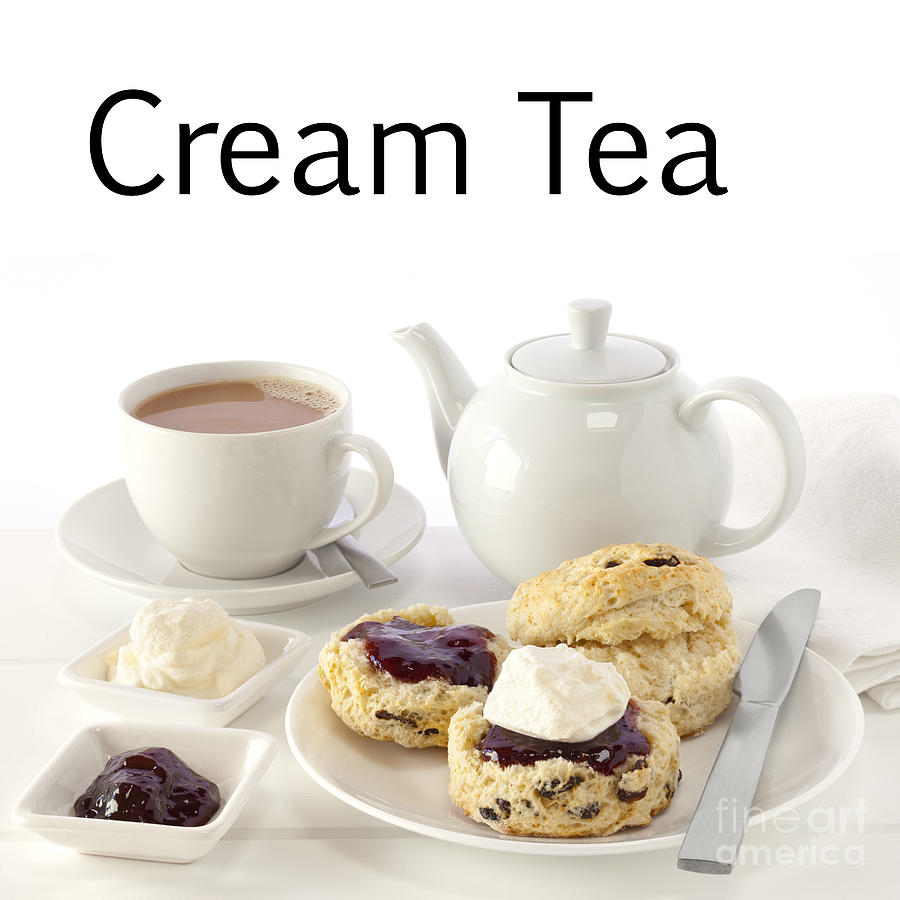 Cream Tea Photograph By Colin And Linda Mckie